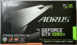 GIGABYTE AORUS GeForce GTX 1080 Ti Xtreme Edition 11GB Grafikkarte