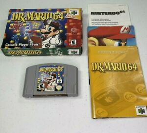 Dr-Mario-64-Nintendo-64-2001-N64-Complete-Tested-Works-0964