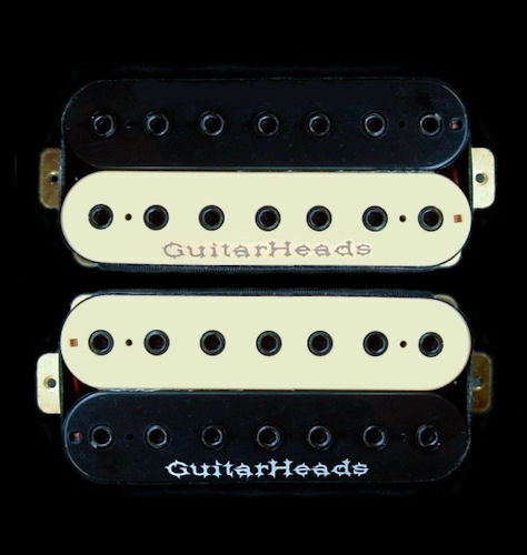 Piezas de de de Guitarras Guitarheads Camionetas Hexbucker Humbucker - 7 Cuerda 086b5c