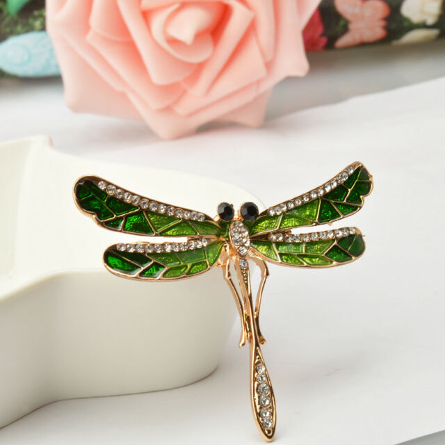 Jewels By Lux Dragonfly Brooch