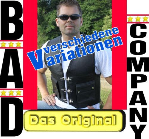 Bad Company Blouson orig L/'original Kai Biker Blouson Noir en Cuir Blouson Rocker