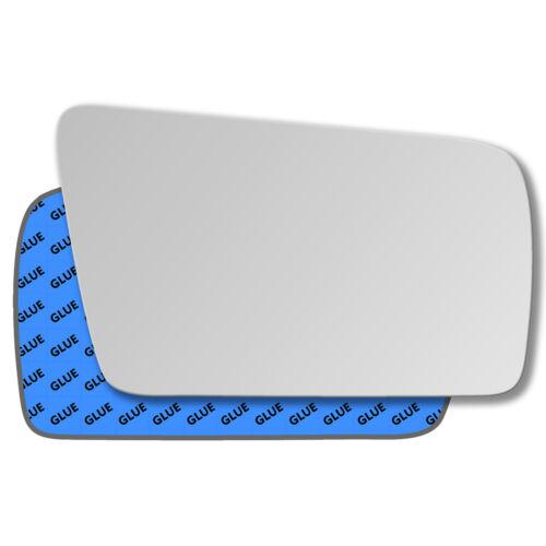 Rechts Beifahrerseite Spiegelglas Außenspiegel für Mercedes E-Klasse W210 95-99