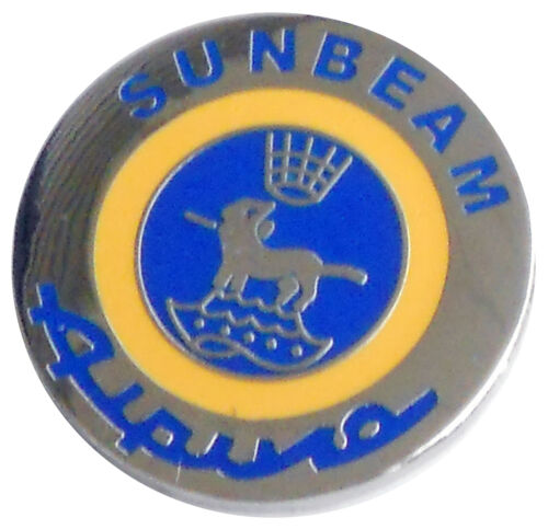 Sumbeam Alpine logo lapel pin round