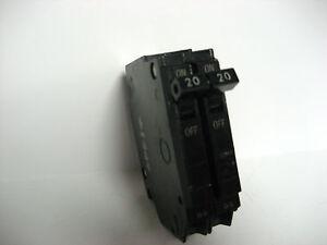 GE THQP220 20 AMP 2 POLE Circuit Breaker THQP TQP