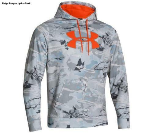 New With Tags Men/'s Under Armour Hunting Camo Hoodie Hooded Sweatshirt
