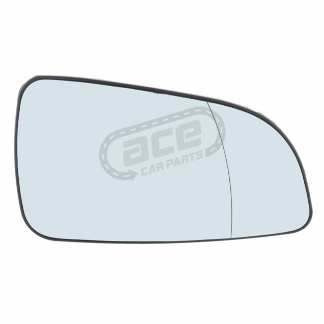 VAUXHALL ASTRA H MK5 2004-2009 WING MIRROR GLASS BLIND SPOT HEATED LEFT