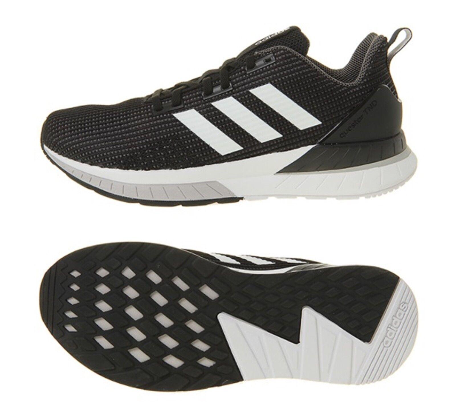 Zapatos De Entrenamiento Adidas Hombres QueEstrella TND Correr Tenis Zapato Negro blancoo DB1122