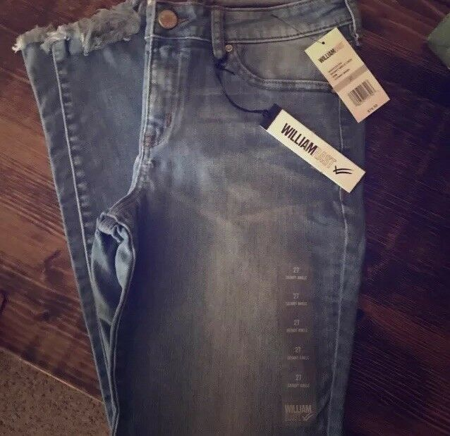 NWT William Rast Skinny Ankle Jeans  29