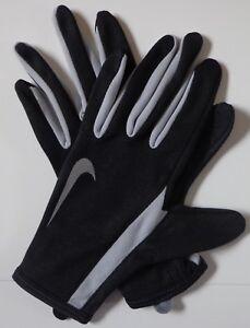 0e72fedf Nike Women's Swift Running Gloves Black/Reflective Silver Size ...