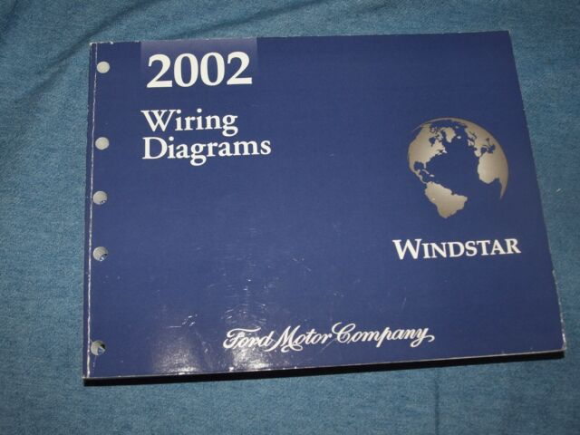 2002 Wiring Diagrams Manual Ford Windstar