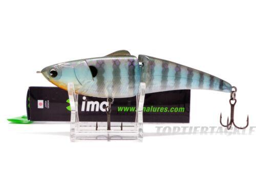 Ima Glide Fluke Swimbait-Glide Bait-Jerkbait Lure Select Size-Sink Rate//Color