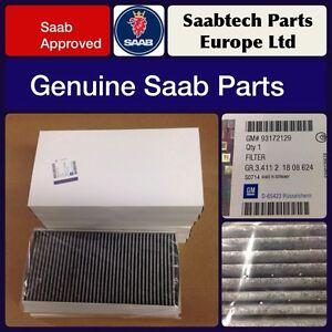 10. X Genuine Saab Cabin Vent Pollen Filter 93172129