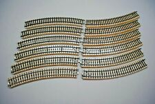 Gebogenes Gleis 1//4 Radius 437,4mm 5° Metall Metallgleis Märklin 5205 H0 1:87 å