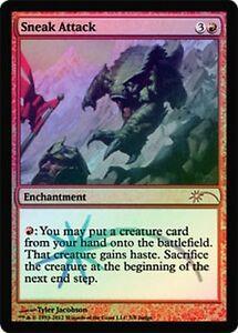 Attaque-Furtive-PREMIUM-FOIL-Judge-Gift-Sneak-Attack-Magic-Mtg
