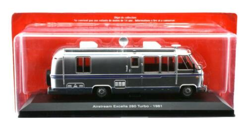 Camping Car Airstream Excella 280 Turbo 1:43 TRUCK MODEL CARAVAN