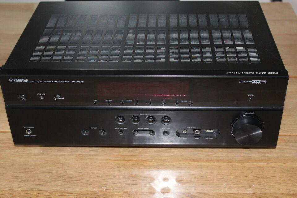 Forstærker, Yamaha, RX-V575