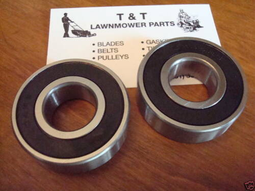 Set of 2 Spindle Bearing for replaces Cub Cadet and MTD 6204-2RS