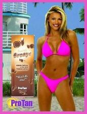 PRO TAN STUNNINGLY BRONZE ULTRA DARK SUNBED TANNING LOTION CREAM SACHET 22ML