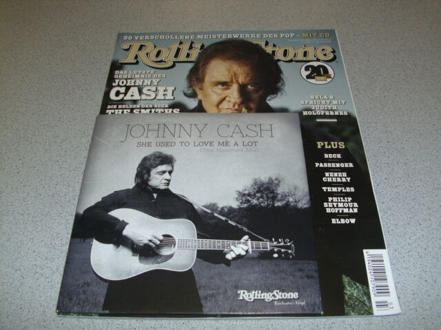 Rolling Stone - MÄRZ 2014 - Heft inc. CD & incl. JOHNNY CASH 7