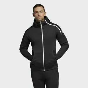 Mens Adidas ZNE Fast Release Hooded Top Black (TGA45) RRP £79.99