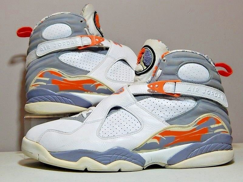 watch 69a85 11e27 Nike Nike Nike Shoes - 2007 Jordan 8 VIII Stealth - Grey White Orange Blaze  -