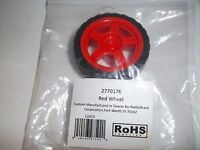 Radio Shack 2770176 Red Wheel