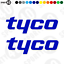 TYCO Vinyl Decal BMW TT British Superbikes Road Racing 3227-0119 Sticker