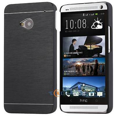 Brushed Metal Aluminum Protective Slim Hard Back Case Cover For Samsung HTC Sony