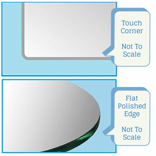 """10/"""" x 30/"""" Inch Heron Clear Floating Glass Shelf Kit 3//8/"""" thick Spancraft"""