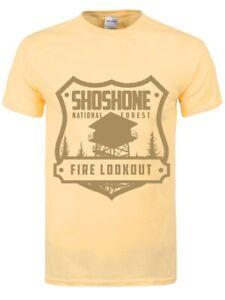 Flint Tropics Men/'s Haze Yellow T-shirt