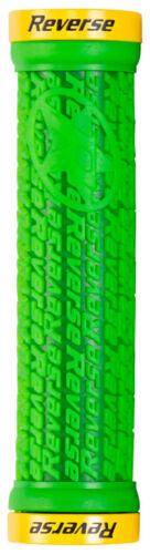 2 Reverse Guidon Poignées stamp 30 mm en vert