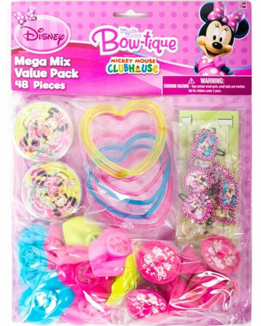 Minnie Mouse 48 Piece Value Pack For 8 One Size
