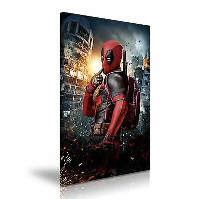 Deadpool Canvas Wall Art Picture Print 50cmx76cm 20x30 inch