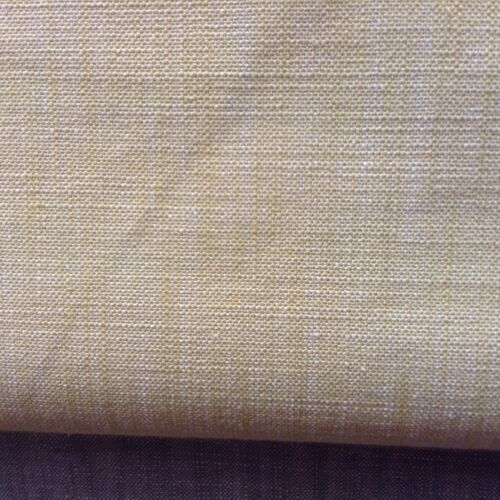 Malibu Chambray Yellow Cotton 140cm wide Curtain//Craft//Upholstery Fabric
