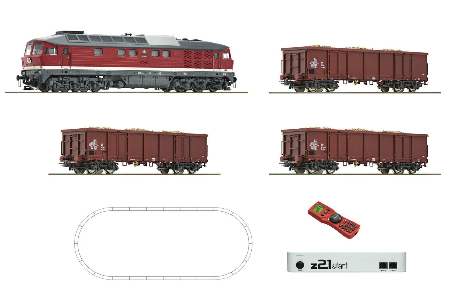 Roco 51292 Start Set Digitale z21 + Multimaus Br 132 Ludmilla Treno Dr Ep IV
