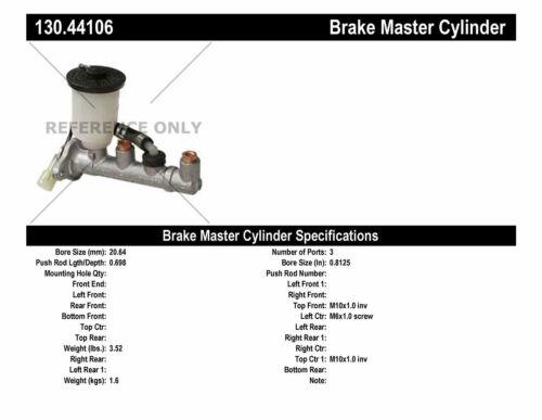 Preferred fits 84-87 Corolla Brake Master Cylinder-Premium Master Cylinder