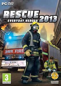 Szczegóły o RESCUE 2013 EVERYDAY HEROES FIREFIGHTER SIMULATOR GAME - NEW  FIRST CLASS POST