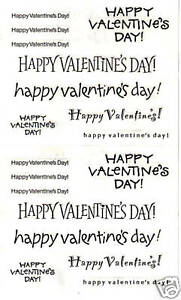 VALENTINE Mrs Grossman CARD CAPTIONS Sheet of LOVE Captions /& Sayings/'