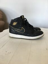 02744ef5084099 item 2 NIKE AIR JORDAN 1 Retro HIGH OG BOYS SIZE 4.5 Black Metallic Gold -NIKE  AIR JORDAN 1 Retro HIGH OG BOYS SIZE 4.5 Black Metallic Gold