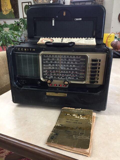 Zenith Trans Oceanic A600 Vintage Wave Mag Tube Radio Multiband. Vintage 1956 Zenith Trans Oceanic Wave Mag Tube Radio Model A600. Wiring. Zenith Trans Oceanic Tube Radio Schematics At Scoala.co