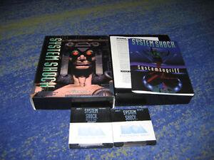 SYSTEM-SHOCK-PC-CD-Edition-Kult-Raritaet-Erstausgabe
