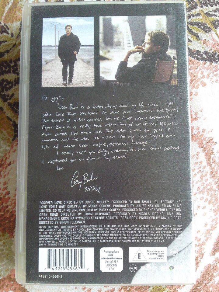 Musikfilm, Gary barlow - open book