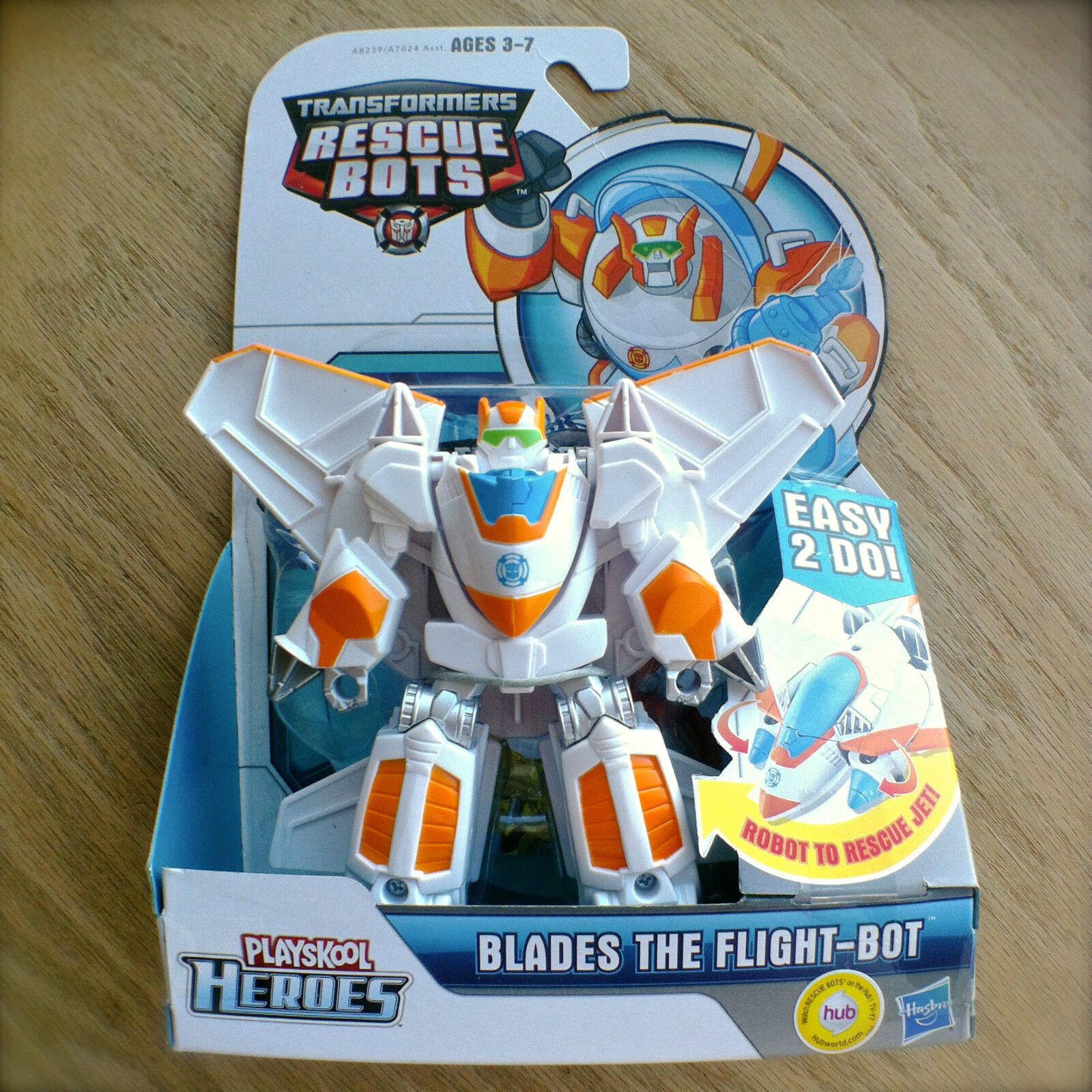 Transformers RESCUE BOTS Blades Flight-Bot Rescan Jet PLAYSKOOL HEROES Hasbro