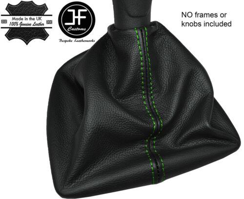 Vert coutures manuel cuir gear gaiter fits fiat qubo 2008-2015