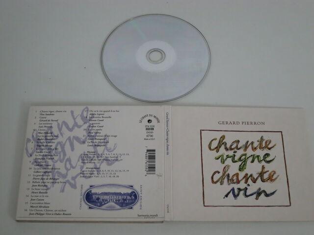 GERARD PIERRON/CHANTE VIGNE, CHANTE VIN(LE CHANT DU MONDE 274 1116) CD ALBUM