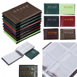 Coin-Holder-Collection-Storage-Collecting-Money-Penny-Pockets-Album-Book