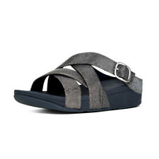 e80192803 item 1 Women s FitFlop The Skinny Criss Cross Slide Soft Leather Sandals  -Women s FitFlop The Skinny Criss Cross Slide Soft Leather Sandals