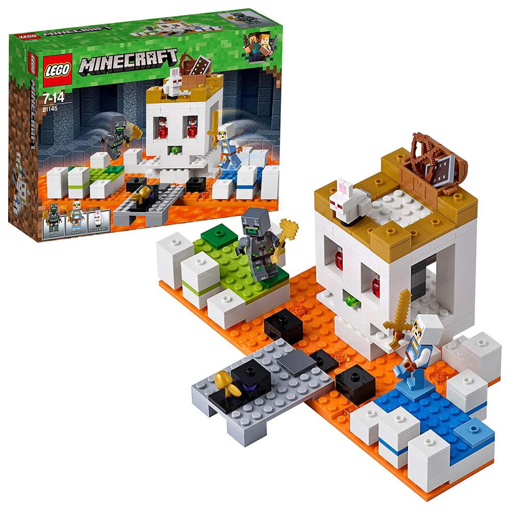 LEGO Minecraft Die Totenkopfarena (21145) Minecraft Minifiguren und Spielzeug fü