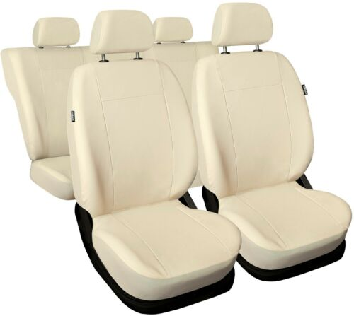 Leatherette beige Car seat covers fit VOLKSWAGEN BEETLE