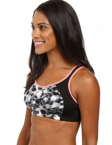 Black//Print Shock Absorber Active Multi Sports Women/'s Support Bra